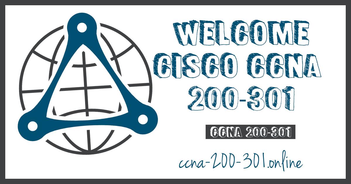 Cisco CCNA 200 301 V7
