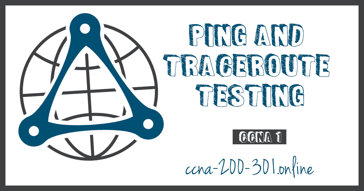 Comand Testing ping tracer
