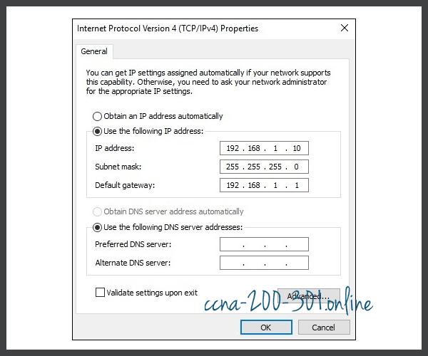 Configure an IPv6 address