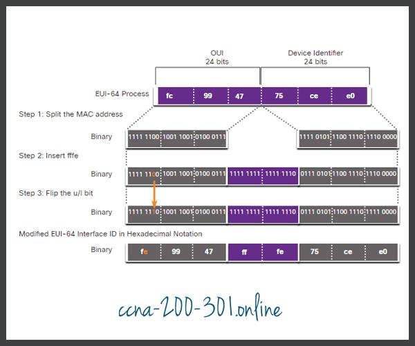 EUI-64 Process