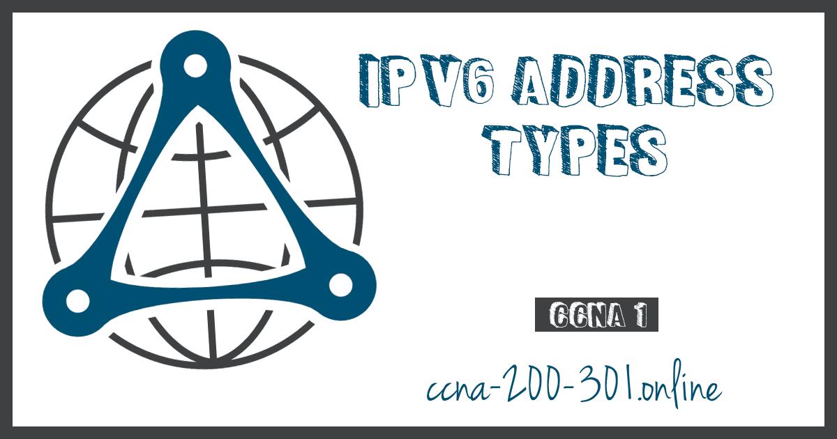 IPv6 Address Types CCNA