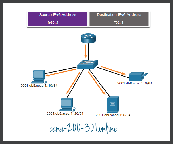 IPv6 All-Nodes Multicast RA Message