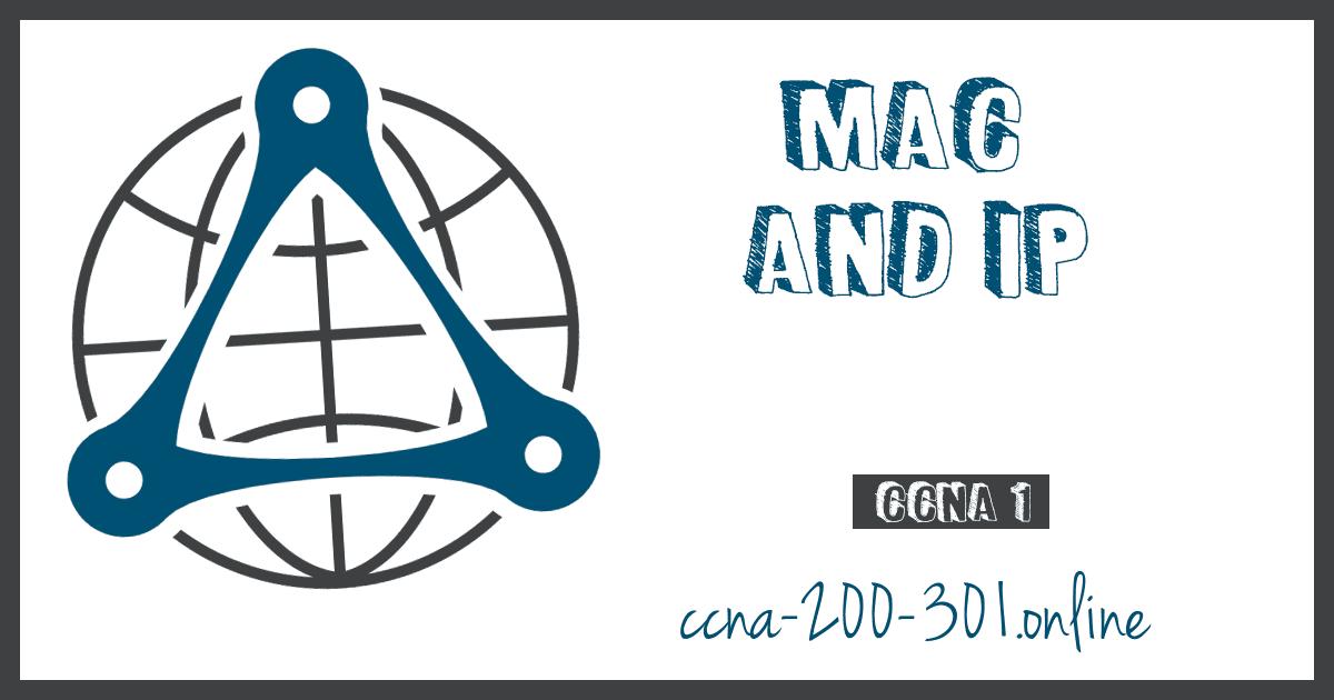 MAC and IP CCNA 200 301