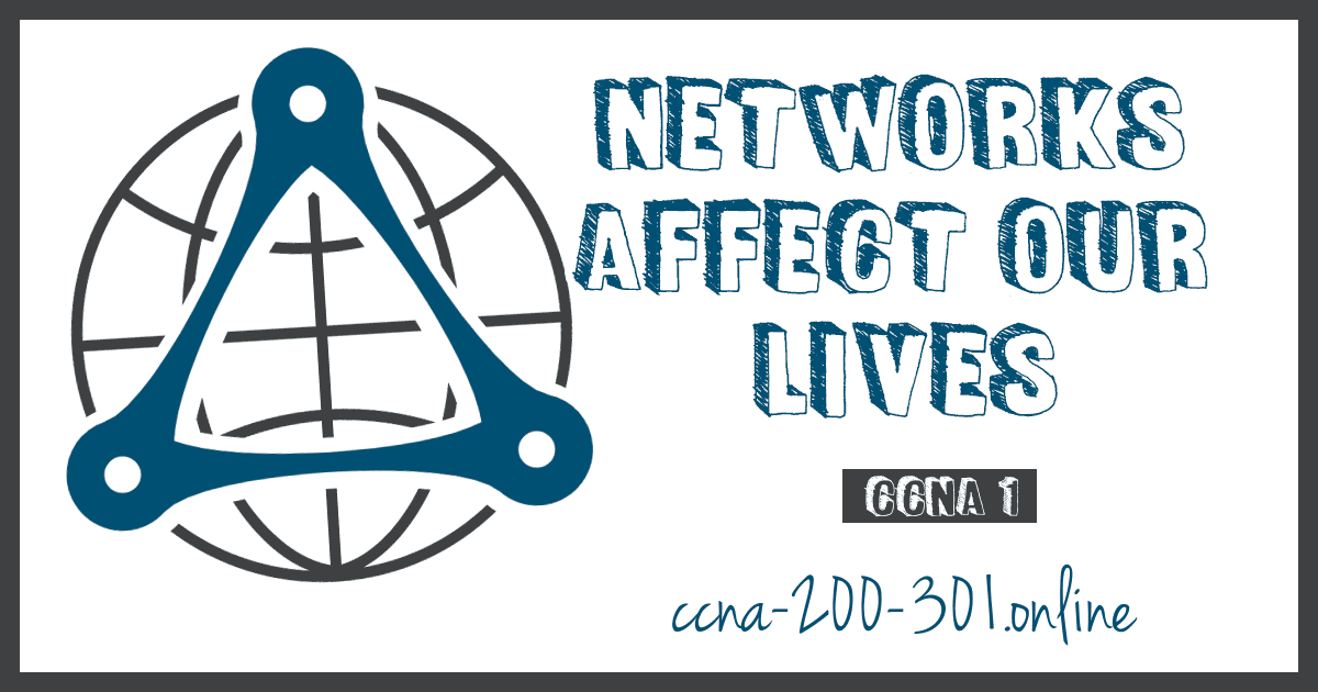 Networks Affect our Lives CCNA Cisco