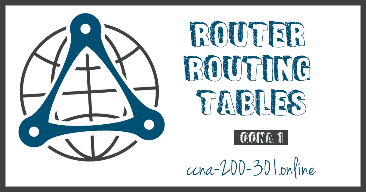 Router Routing Tables CCNA