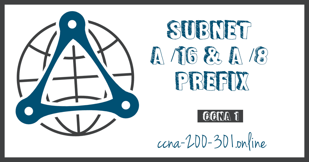 Subnet a 16 and a 8 Prefix