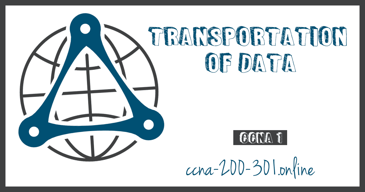Transportation of Data CCNA