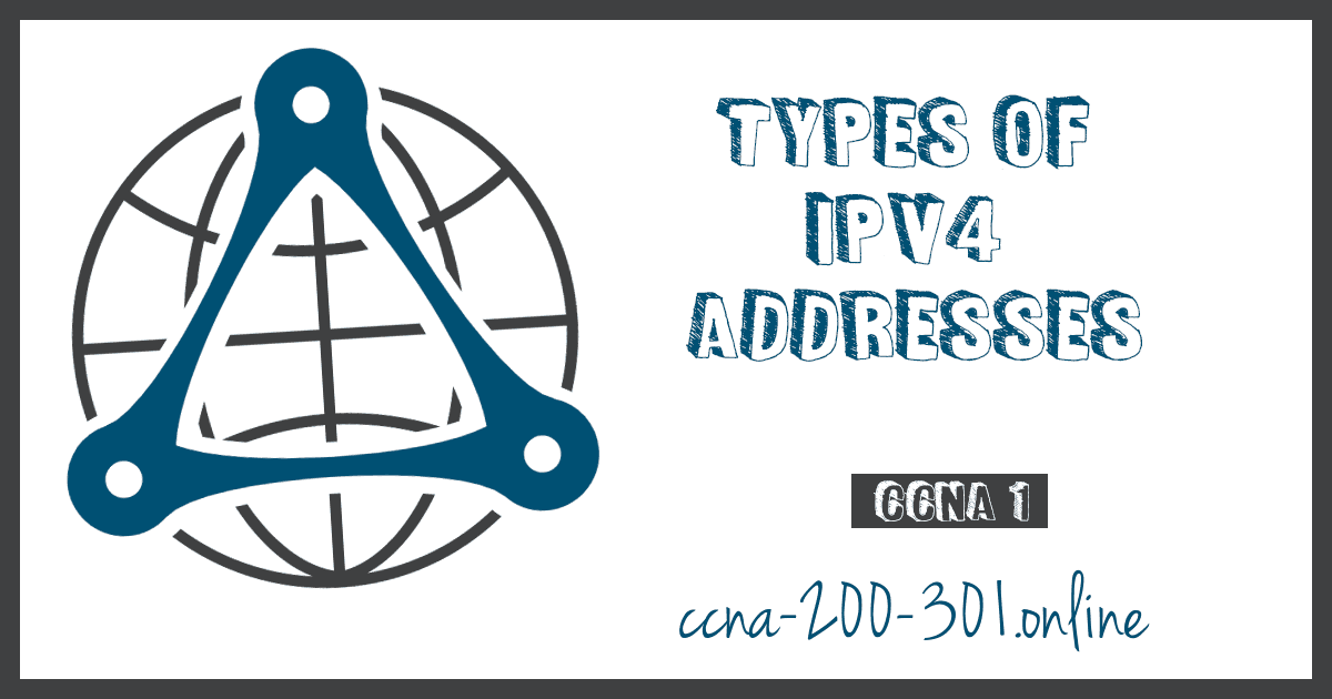Types of IPv4 Addresses