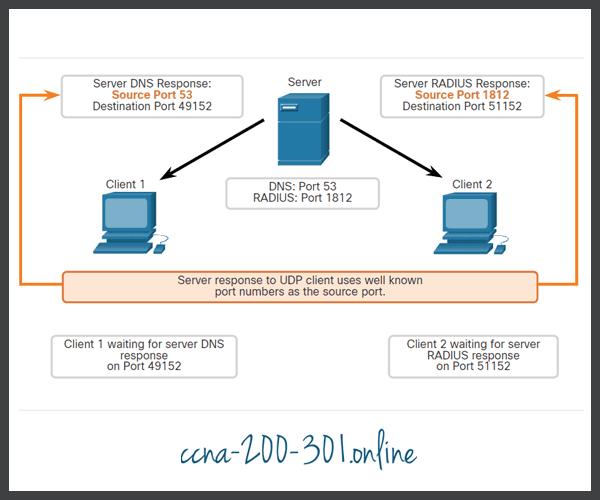 UDP Response Source Ports
