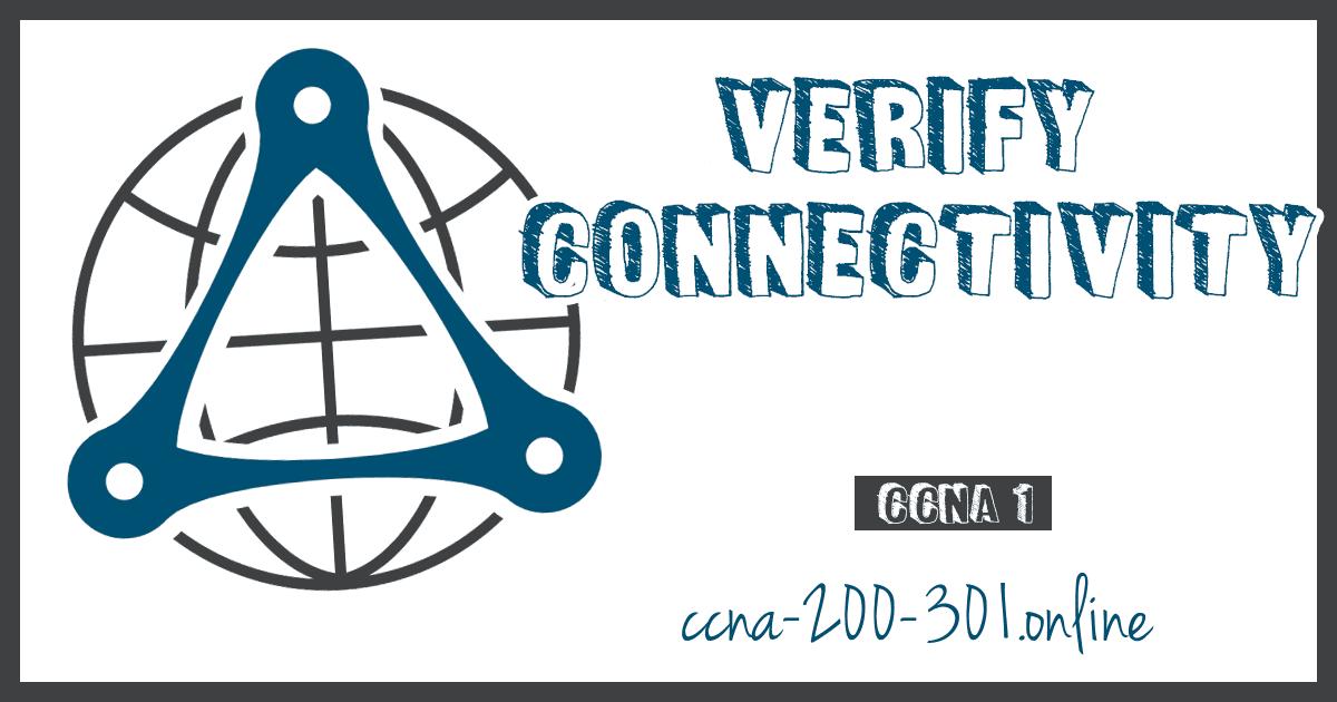 Verify Connectivity Network CCNA