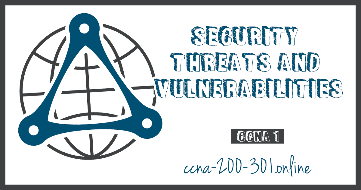 Security Threats and Vulnerabilities CCNA