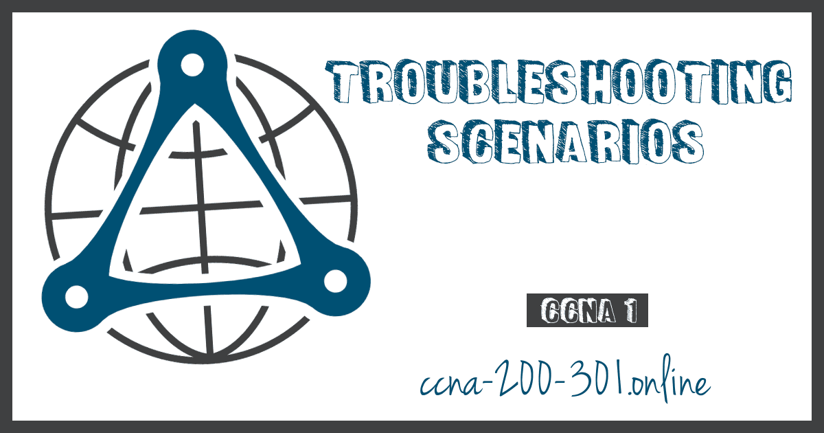 Troubleshooting Scenarios CCNA