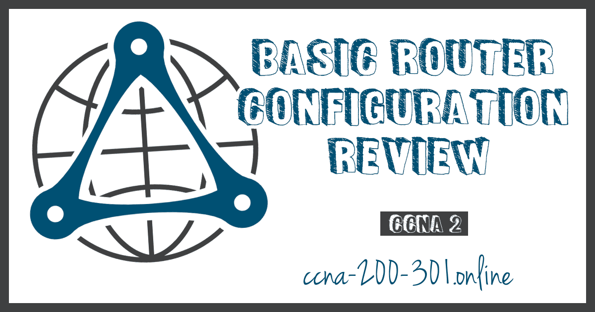 Basic Router Configuration Review CCNA
