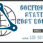 Configure Static Host Routes