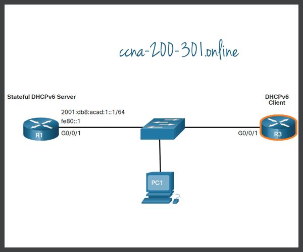 Configure a Stateful DHCPv6 Client