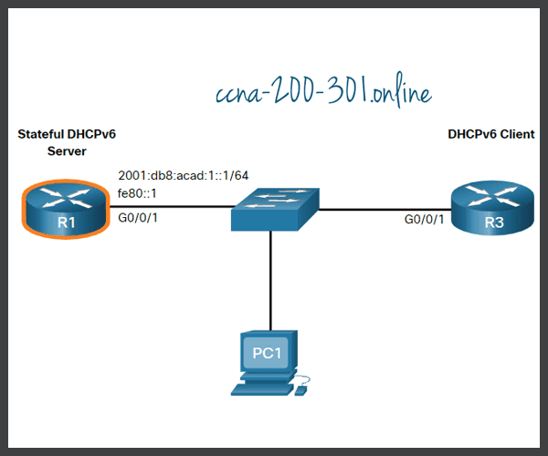 Configure a Stateful DHCPv6 Server