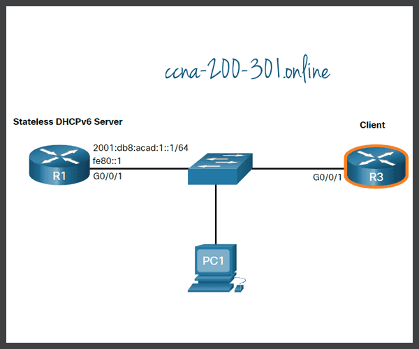 Configure a Stateless DHCPv6 Client