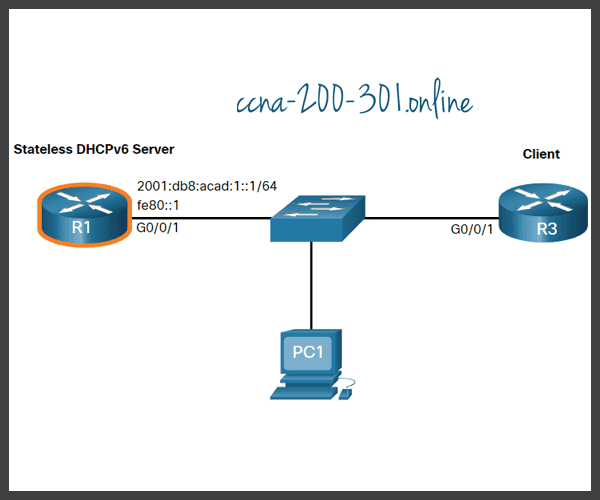 Configure a Stateless DHCPv6 Server