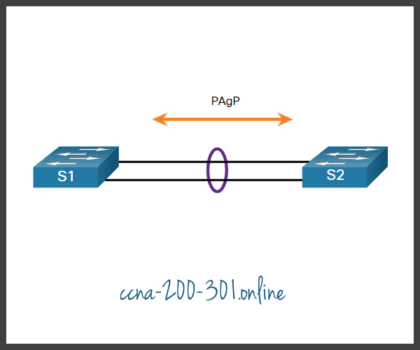 PAgP Mode Settings Example