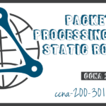 Packet Processing with Static Routes
