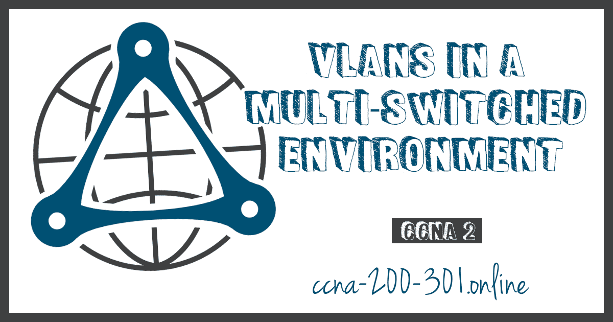 VLANs in a Multi-Switched Environment CCNA