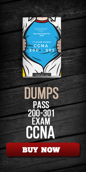 CCNA 200 301 exam dumps