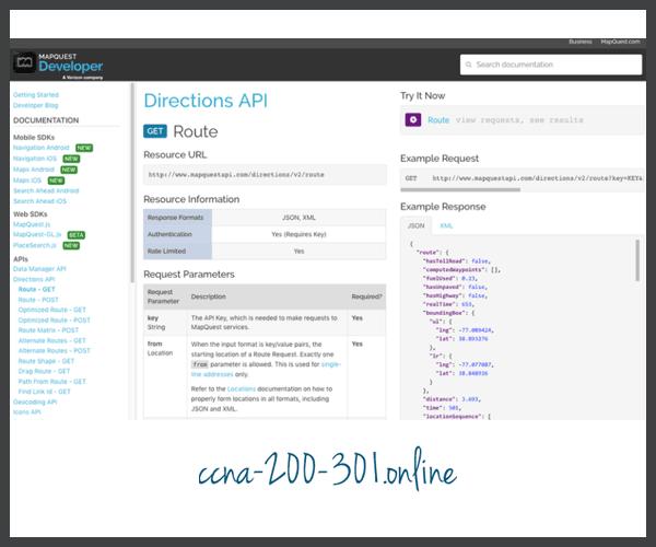 Developer Web Site