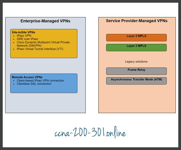 Enterprise and Service Provider VPNs
